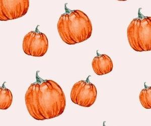 wallpaper, autumn, and pumpkin image