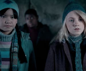 luna lovegood, cho chang, and harry potter image