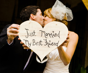 love, married, and couple image