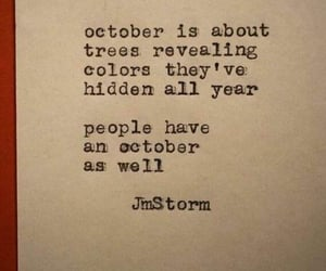 october, quotes, and people image