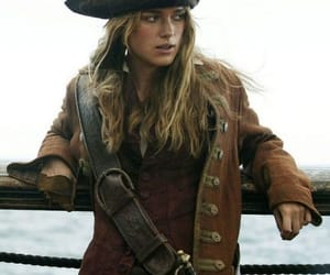 keira knightley, pirates of the caribbean, and elizabeth swann image