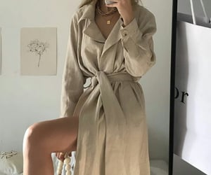 clothes, fall, and glam image