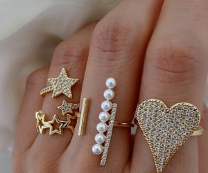 bijoux, bling, and gold image