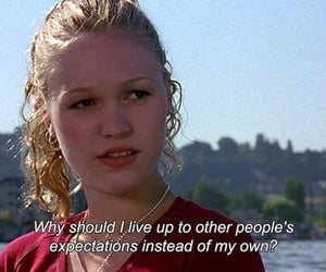 10 things i hate about you, film, and words image