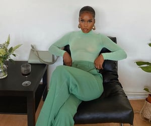 green, beauty, and fashion image