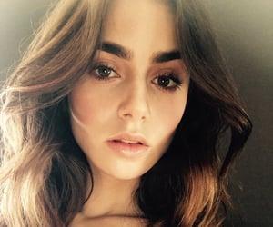 makeup, actress, and lily collins image