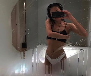 body, mirror, and goal image