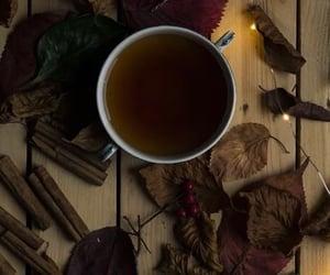 autumn, cinammon, and tea image