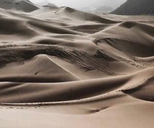 sand, aesthetic, and desert image