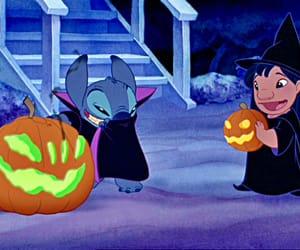stitch, disney, and Halloween image