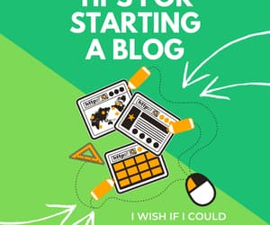 blog, wix, and blogger image