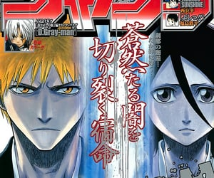 bleach, magazine, and manga image
