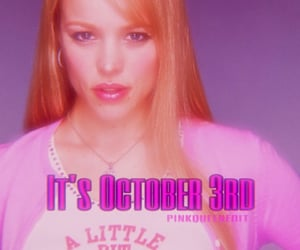 pink, meangirlsday, and regina george image