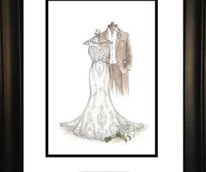 Image by Dreamlines Wedding Dress Sketch