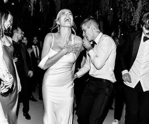 justin bieber, wedding, and love image