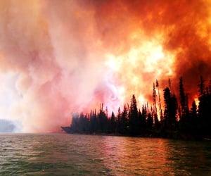 Wild fire huge impact.