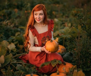 photography, autum, and girl image