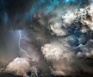 photography and thunderstorm photography image