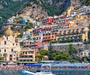 Amalfi coast, wanderlust, and architecture image