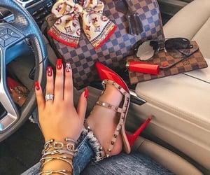 bag, fashionista, and heels image