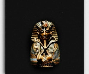3d, gold, and mummy image