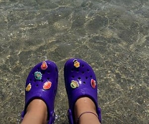 crocs, ete, and sea image