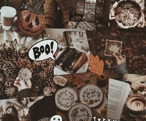 Halloween, fall, and kids image