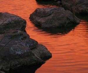 orange, aesthetic, and feed image
