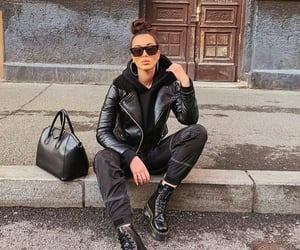 cool girl, winter outfit, and givenchy bag image