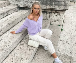 aesthetic, blondes, and fashion image