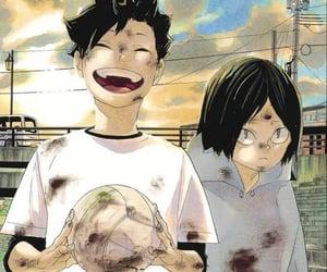 haikyuu, kuroken, and anime image