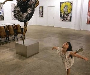 girl and ballerina image