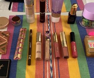 cosmetics, cream, and lipstick image