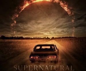 serial, impala, and supernatural image