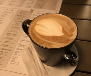 coffee, cream, and latte image