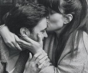 black and white, حب عشق غرام غزل, and كبلات كبل ثنائي image