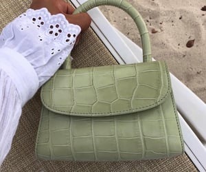 fashion, bag, and green image