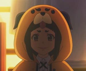 anime girl, inaho, and anime profile pic image
