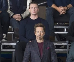 actor, Marvel, and robert downey jr image