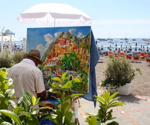 Amalfi, italia, and painters image