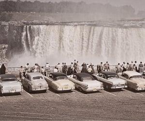 vintage, car, and niagara falls image