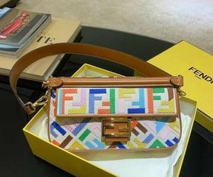 bag, fendi, and style image