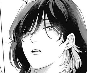 manga, anime, and pink heart jam image