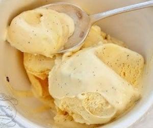 cream, desserts, and ice cream image