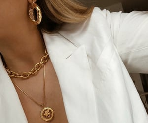 chains, jewellery, and earrings image