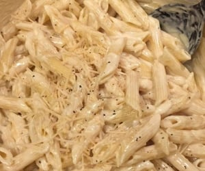 aesthetic, cream, and penne image