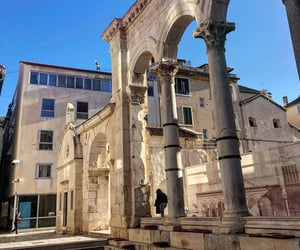 architecture, Croatia, and Dalmatia image