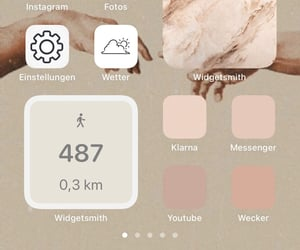 apple, beige, and handy image