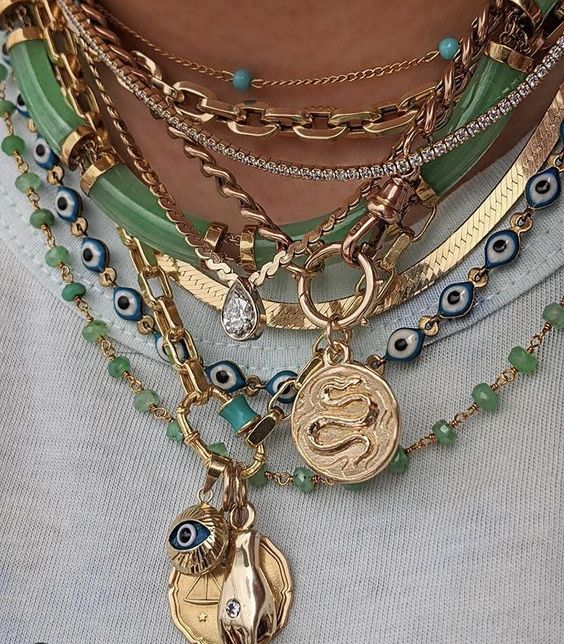 fashion, accessories, and chains image