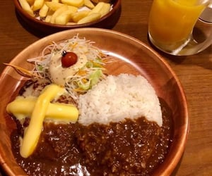 cheese, curry, and delicious food image